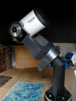 Telescope installed