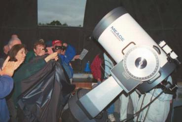 Unveiling the telescope